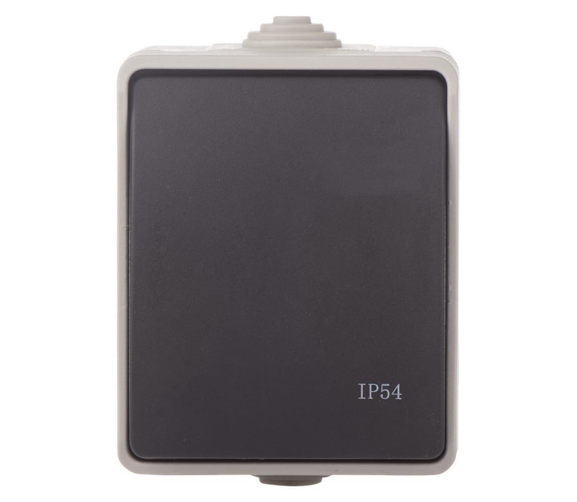 EMOS Spínač domovní střídavý 250V/10A IP54