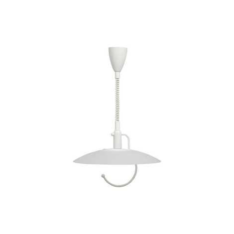 Stahovací lustr SCORPIO WHITE - 1xE27/100W/230V