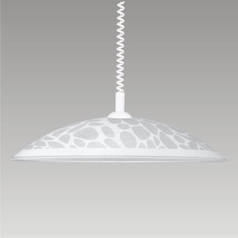 Stahovací lustr SILK 1xE27/60W bílá
