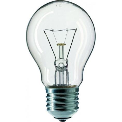 Standardní žárovka E27/150W čirá