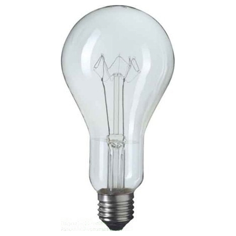 Standardní žárovka E40/500W čirá