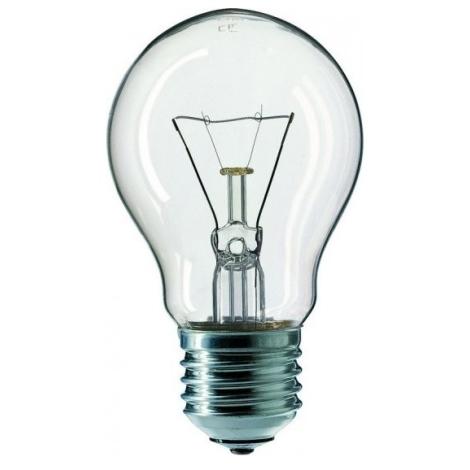 Standartní žárovka E27/60W/230V čirá
