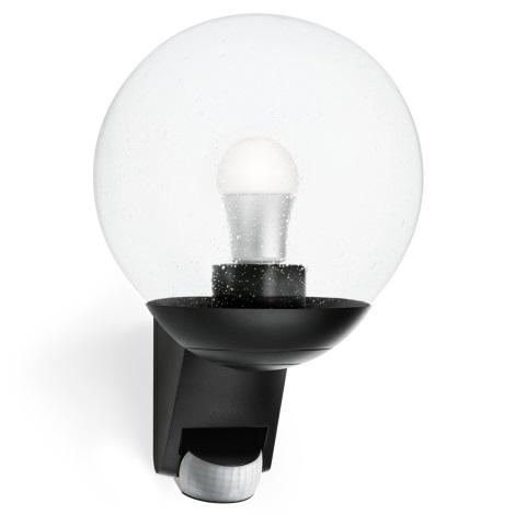 STEINEL 005535 - Venkovní nástěnné senzorové svítidlo L585S 1xE27/60W černá
