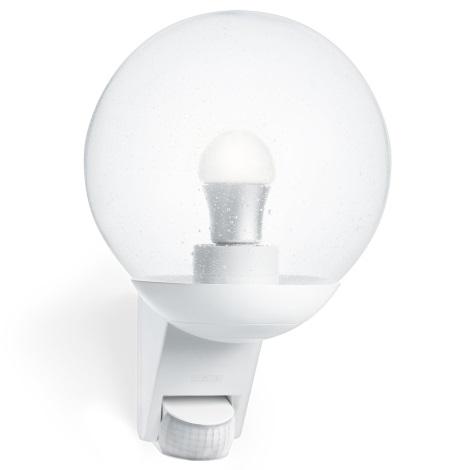 STEINEL 005917 - Venkovní nástěnné senzorové svítidlo L585S 1xE27/60W bílá