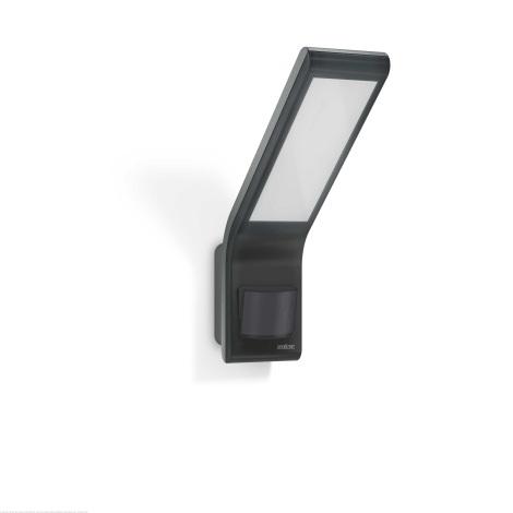 Steinel 012052 - Venkovní nástěnné svítidlo s čidlem XLED slim LED/10,5W/230V