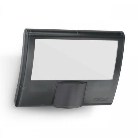Steinel 012076 - Venkovní nástěnné svítidlo s čidlem XLED curved LED/10,5W/230V