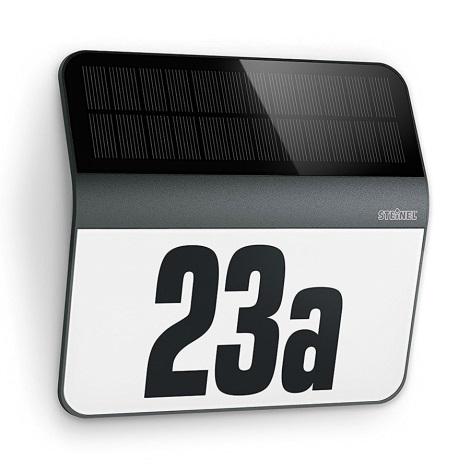 STEINEL 0357530 - LED Solární domovní číslo LED/0,03W IP44