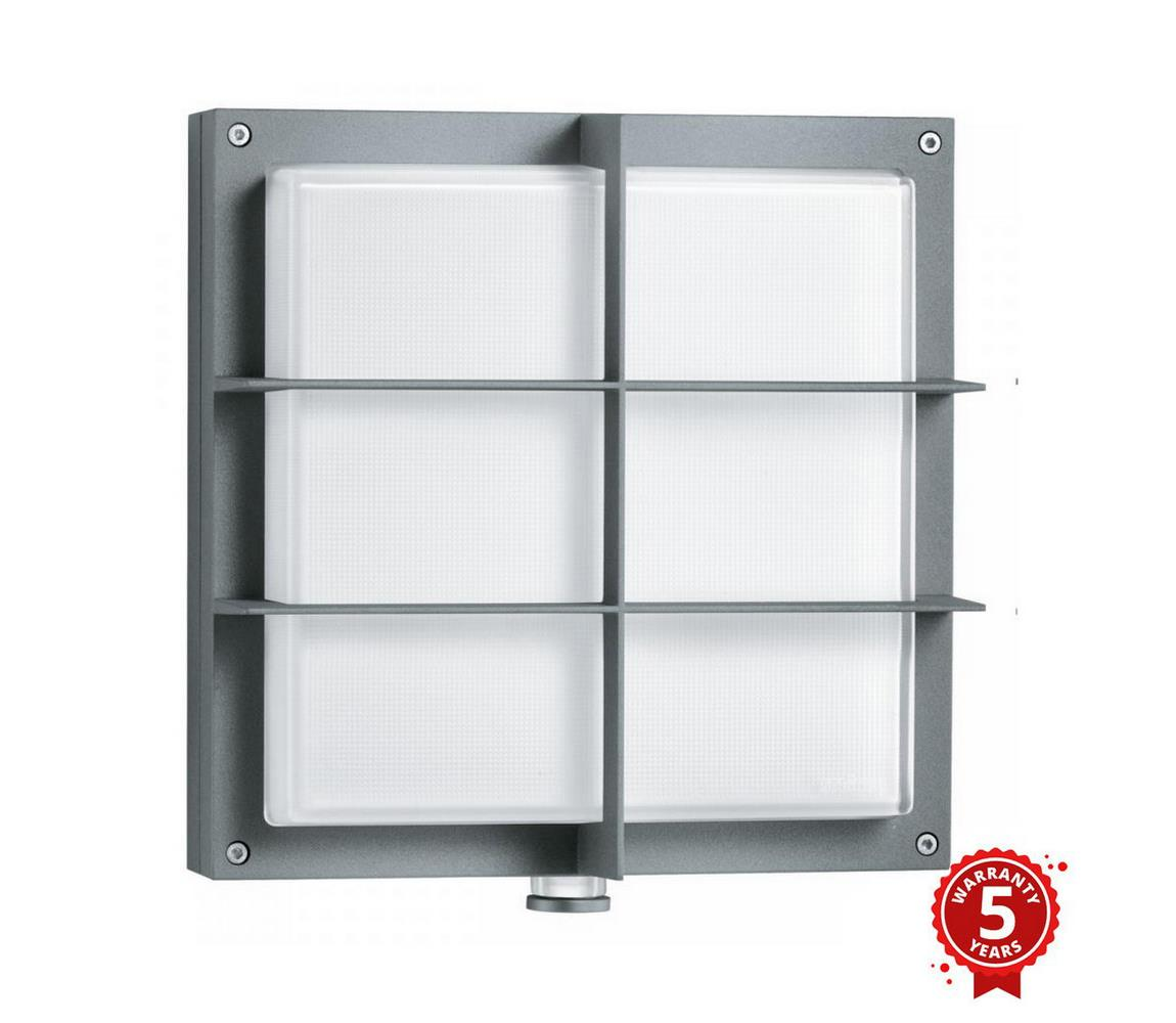 Steinel STEINEL 053031- LED Venkovní nástěnné svítidlo se senzorem L691 LED/9W/230V IP44 ST053031