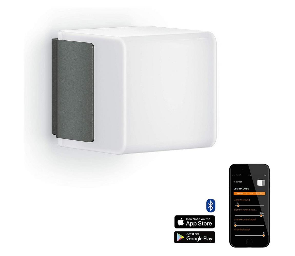 Steinel 055516 senzorové svítidlo L 835 LED iHF Cubo antracit 9,5W IP44