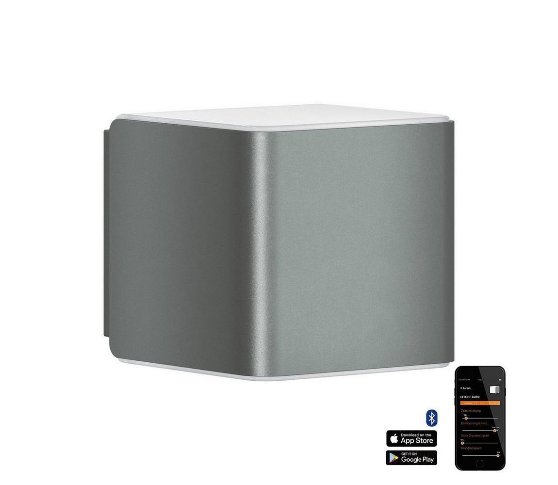 Steinel 055530 senzorové svítidlo L 840 LED iHF Cubo antracit 9,5W IP44