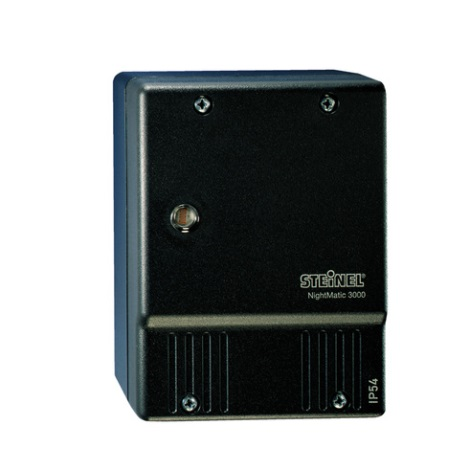 STEINEL 550516 - Soumrakový spínač NightMatic 3000 Vario černá IP54