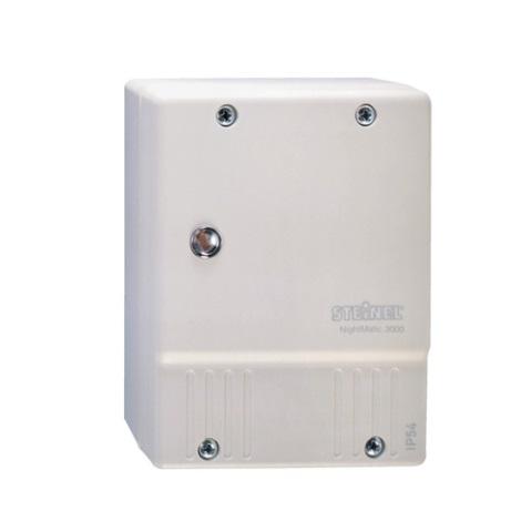 STEINEL 550615 - Soumrakový spínač NightMatic 3000 Vario bílá IP54