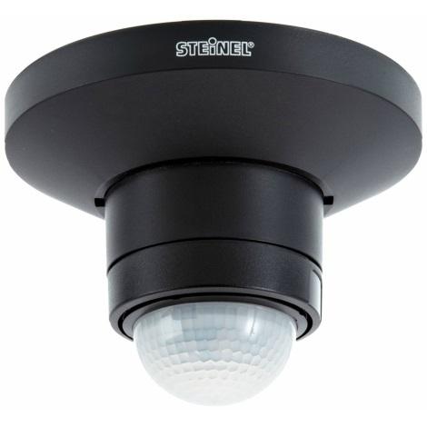 STEINEL 602512 - Hlásič pohybu IS 360 D TRIO černý