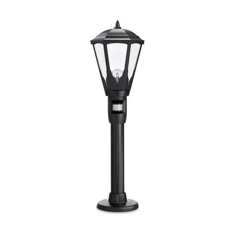 STEINEL 617011 - Senzorová venkovní lampa   GL 16 S 1xE27/100W černá