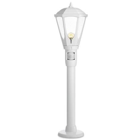 STEINEL 617110 - Senzorová venkovní lampa GL 16 S 1xE27/100W bílá