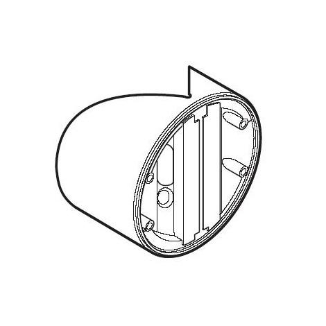 STEINEL 631567 - Rohový držák 06 bílý