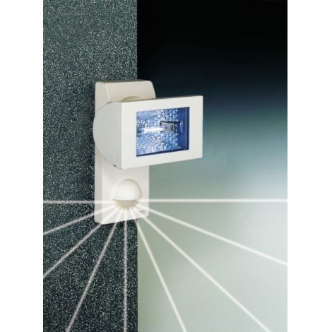 STEINEL 632113 - Halogenový reflektor se senzorem HS 152 XENO bílá