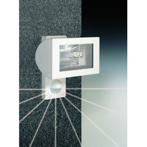 STEINEL 632816 - Halogenový reflektor se senzorem HS 502 bílá