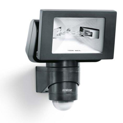 STEINEL 633011 - HS 150 DUO černá senzorová lampa pro venkovní prostory
