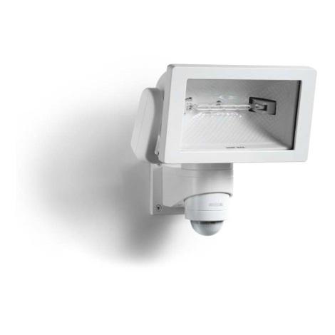 STEINEL 633110 - HS 150 DUO bílá senzorová lampa pro venkovní prostory