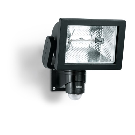 STEINEL 633417 - Halogenový reflektor se senzorem HS 500 S DUO černá