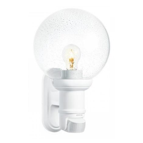 STEINEL 634315 - L 560 S bílá senzorová nástěnná lampa pro venkovní prostory
