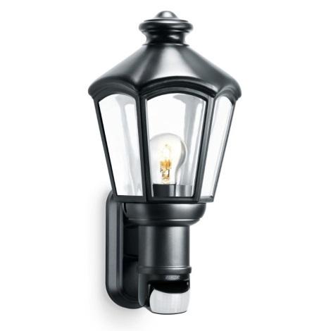 Steinel 634612 - Nástěnná lampa se senzorem L 562 S 1xE27/60W/230V