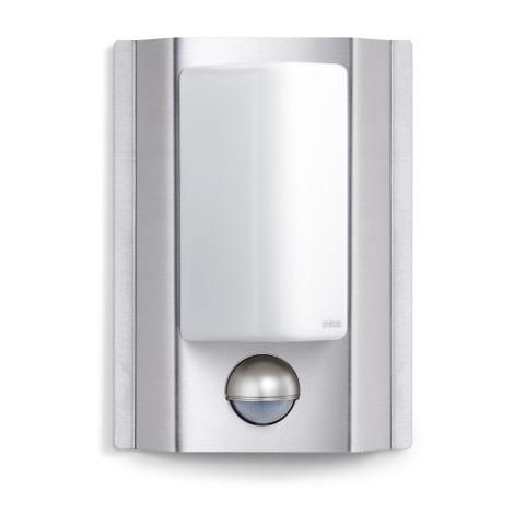 STEINEL 642112 - L 860 S senzorová lampa pro venkovní prostory z ušlechtilé oceli