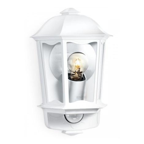 Steinel 644512 - Venkovní nástěnné svítidlo se senzorem L 190 S 1xE27/100W/230V
