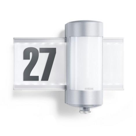 STEINEL 647810 - L 270 S hliníkové senzorové svítidlo osvětlující domovní číslo