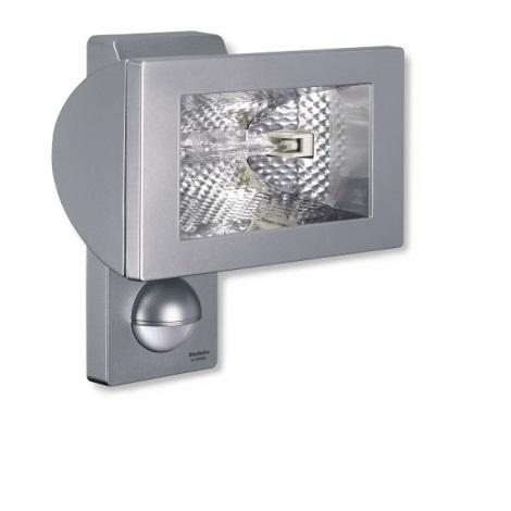 STEINEL 648510 - Halogenový reflektor se senzorem HS 502  stříbrná