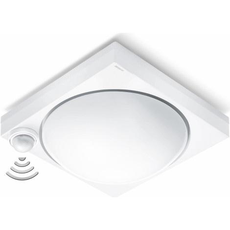 Steinel 650315 - Venkovní stropní svítidlo se senzorem DL 750 S 1xE27/100W/230V