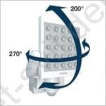 steinel 654610 led senzorov reflektor xled 10 b l sv t sv tidel. Black Bedroom Furniture Sets. Home Design Ideas