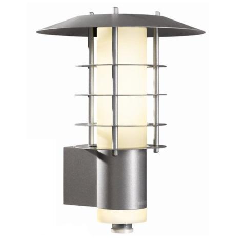 STEINEL 658311 - Nástěnná lampa se senzorem L 265-5 stříbrná