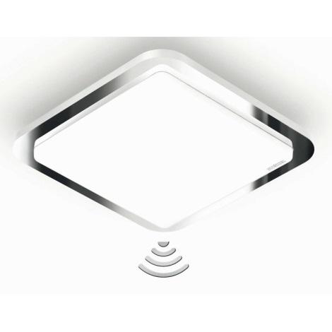 STEINEL 663612 - LED Stropní svítidlo s čidlem RS LED D1 16W LED chrom