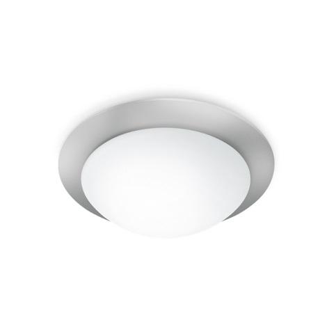 STEINEL 735715 - Stropní svítidlo se senzorem RS 10-3 L  stříbrná / bílé sklo