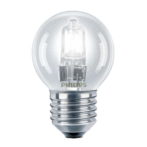Stmívatelná halogenová žárovka P45 E27/28W/230V - Philips 925647444201