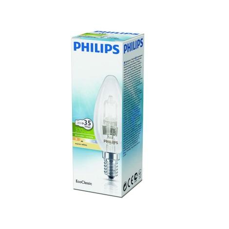 Stmívatelná halogenová žárovka Philips E14/28W/230V