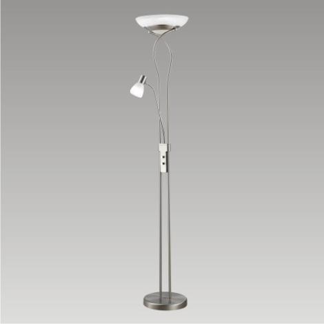Stmívatelná stojací lampa TEANA 1x2D/55W+1xE14/9W