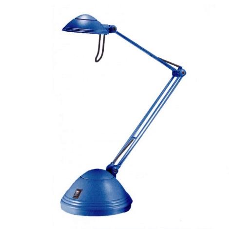 Stmívatelná stolní lampa ELA 1xGY6,35/50W/230V/12V modrá