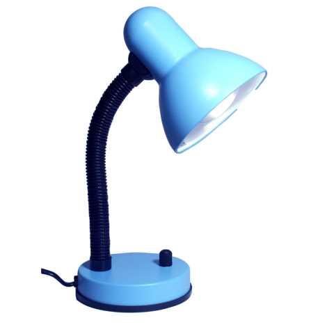 Stmívatelná stolní lampa KADET – S 1xE27/60W modrá
