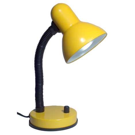 Stmívatelná stolní lampa KADET – S 1xE27/60W žlutá