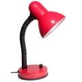Stmívatelná stolní lampa KADET -S 1xE27/40W červená