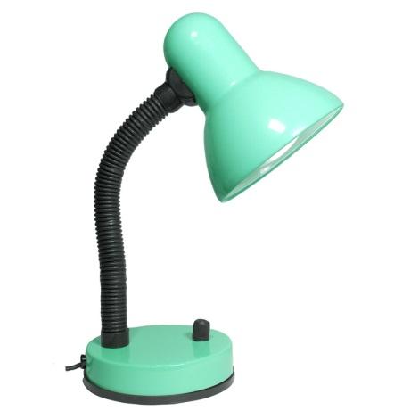 Stmívatelná stolní lampa KADET -S 1xE27/40W zelená