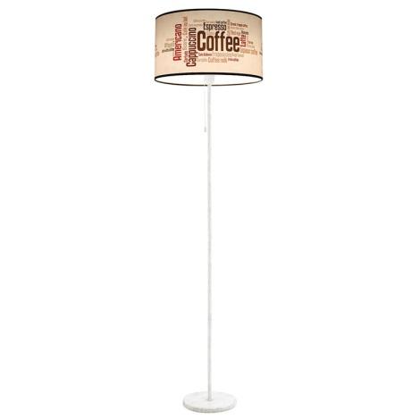 Stojací lampa COFFEE 1xE27/60W/230V