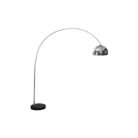 Stojací lampa COSMO CHROM S - 1xE27/60W/230V