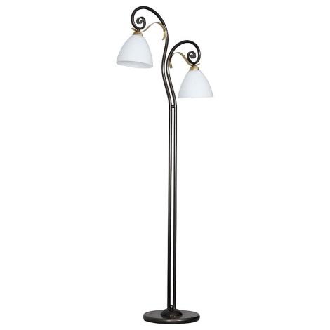 Stojací lampa LIMA 2xE27/60W/230V