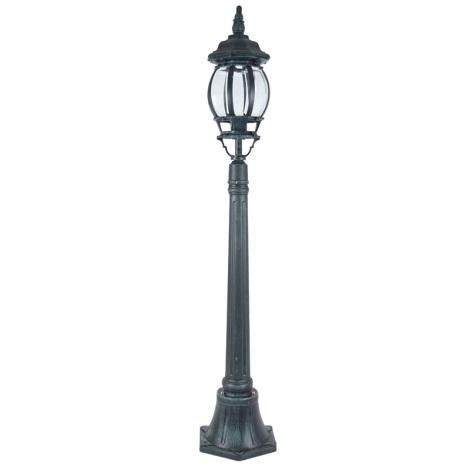 Stojací lampa SANGHAI 1xE27/60W/230V - zelenočerná patina