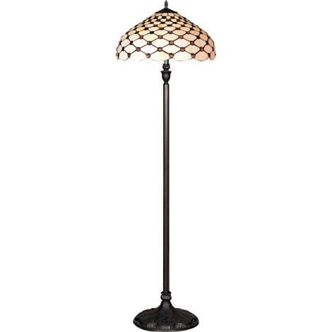 Stojací lampa TIFFANY 76 2xE27/60W