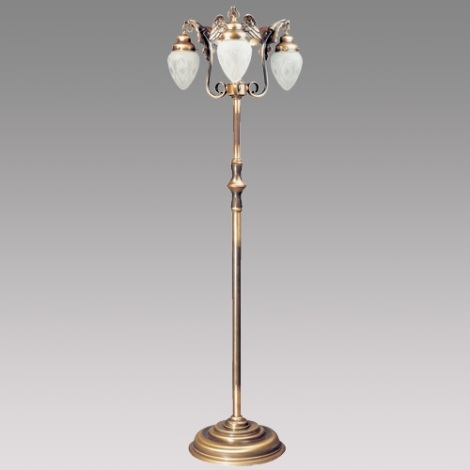 Stojanová lampa EAGLE patina